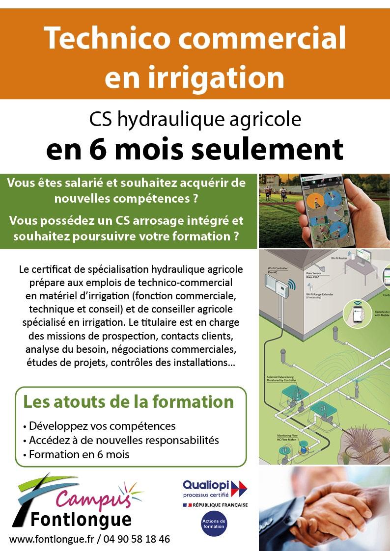 affiche cs hydraulique agricole